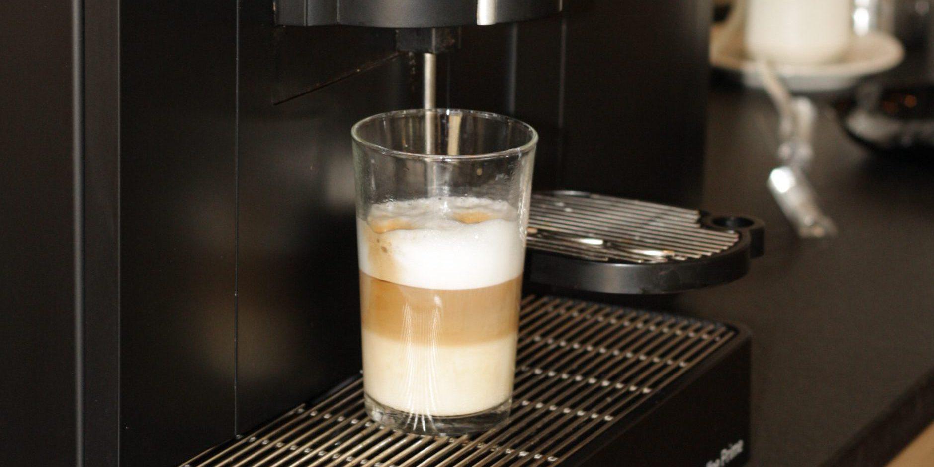 Latte Macchiato in Friedrichshafen Hotel Waldhorn